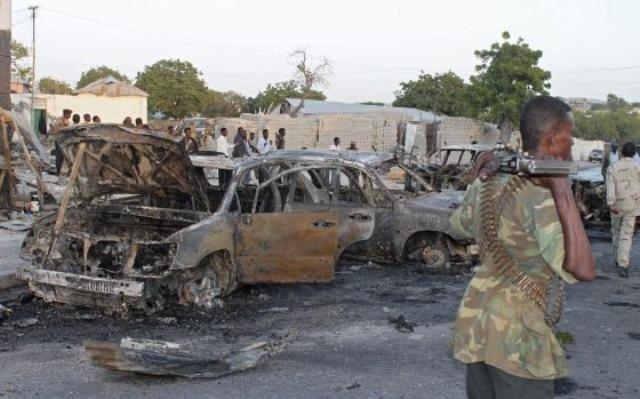 Varios muertos en ataque suicida en Somalia. (Foto Prensa Libre: AP)