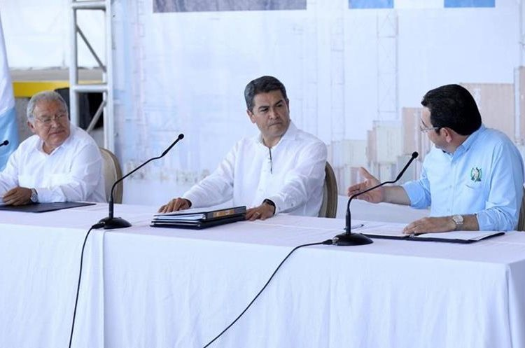 Presidentes del Triángulo Norte evalúan avances en seguridad