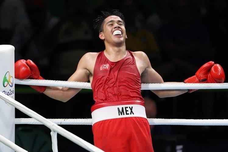 El boxeador mexicano Misael Rodríguez se quedó con la medalla de bronce en la categoría de 75 kilogramos (Foto Prensa Libre: EFE)