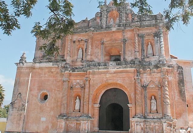 Iglesia de San Pedro Las Huertas, Sacatepéquez. (Foto: Hemeroteca PL)