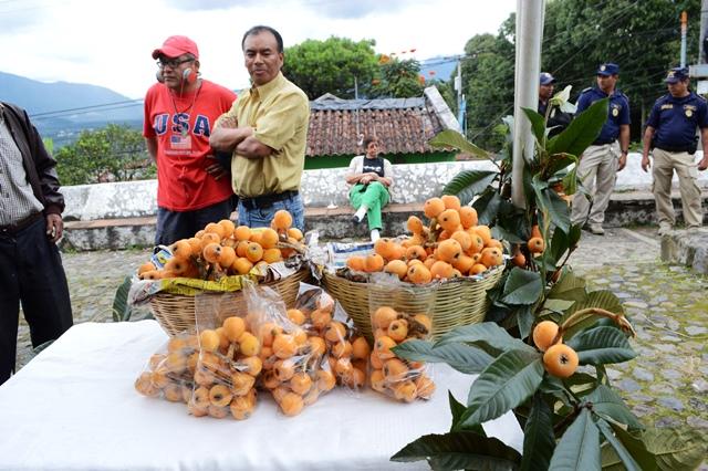 Festival del Níspero se realiza este sábado y domingo en la Plazuela de San Juan del Obispo. (Foto prensa Libre: Miguel López)