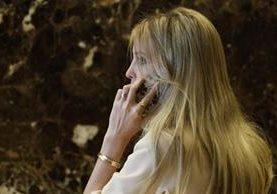 Ivanka Trump, hija del presidente electo de EE. UU., Donald Trump. (Foto Prensa Libre: AP).