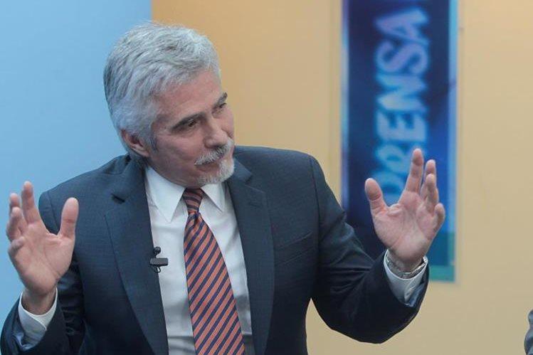 La CC rechazó un amparo de Ricardo Méndez-Ruíz en contra de la PDH. (Foto Prensa Libre: HemerotecaPL)