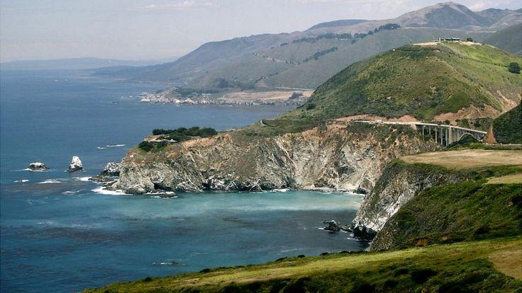 El condado californiano de Monterey hoy. IMAGEN DE DOMINIO PÚBLICO