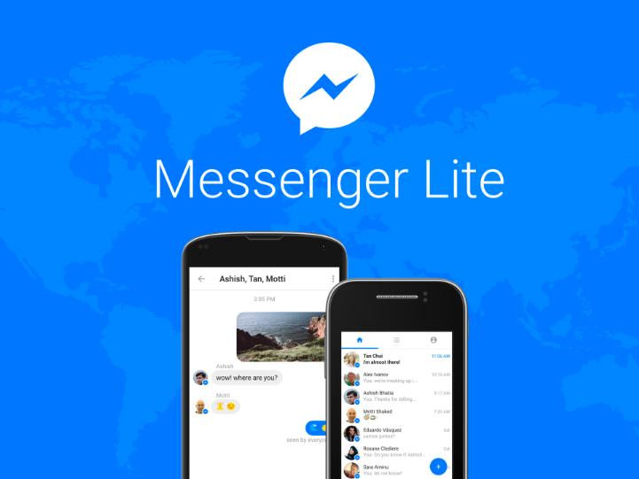 Messenger Lite es una versión más liviana de Messenger, enfocada en usuarios con internet más lento o con poco espacio en sus teléfonos. (Foto: Hemeroteca PL).