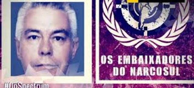 Luiz Carlos Rocha, supuesto narcotraficante detenido en Brasil. (Foto Prensa Libre: Cortesía)