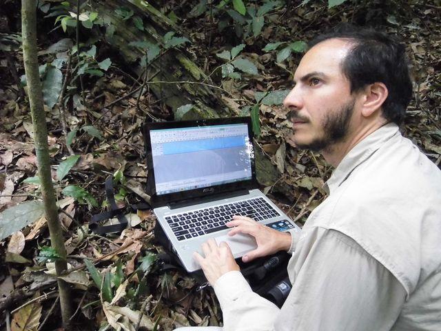 Bolaños es estudiante de doctorado en el Museo Nacional de Historia Natural, en Francia. (Foto: Cortesía Pablo Bolaños).
