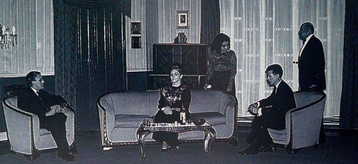 El grupo TAU fue creado en 1948. Esta imagen corresponde a uno de sus montajes de 1975. (Foto Prensa Libre: Teatro Nacional).
