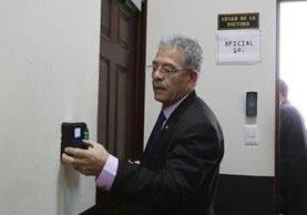 El Colegio de Abogados y Notarios de Guatemala&nbsp; (CANG) condenó las amenazas emitidas en contra del juez Miguel Ángel Gálvez. (Foto Prensa Libre: Hemeroteca PL)<br />