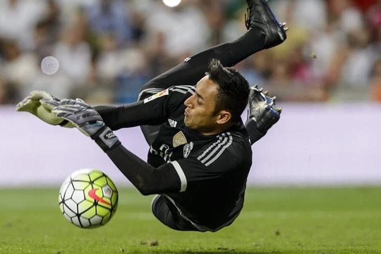 EL portero tico Keylor Navas será operado el jueves de una lesión en el tendón de Aquiles, misma que lo dejó fuera de la Copa Centenario con Costa Rica. (Foto Prensa Libre: Hemeroteca)
