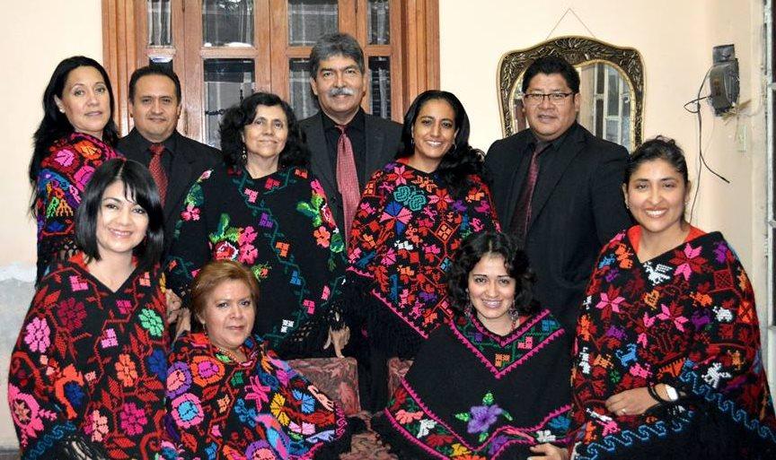 Grupo La Coral a Cappella,  de Puebla, México. (Foto Prensa Libre: Hemeroteca PL).