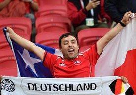 Chile y Alemania empataron 1-1 en partido del grupo B