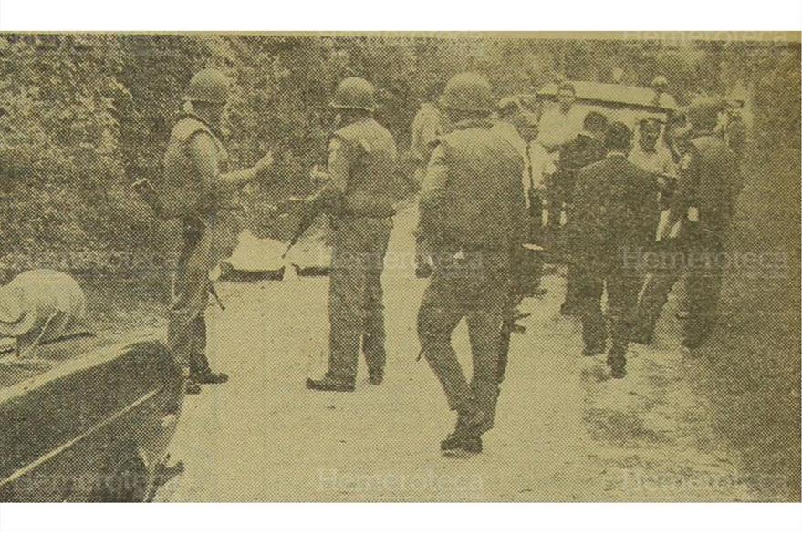Un amplio rastreo efectuó el Ejército en el lugar donde murió industrial Bonin. (Foto: Hemeroteca PL)