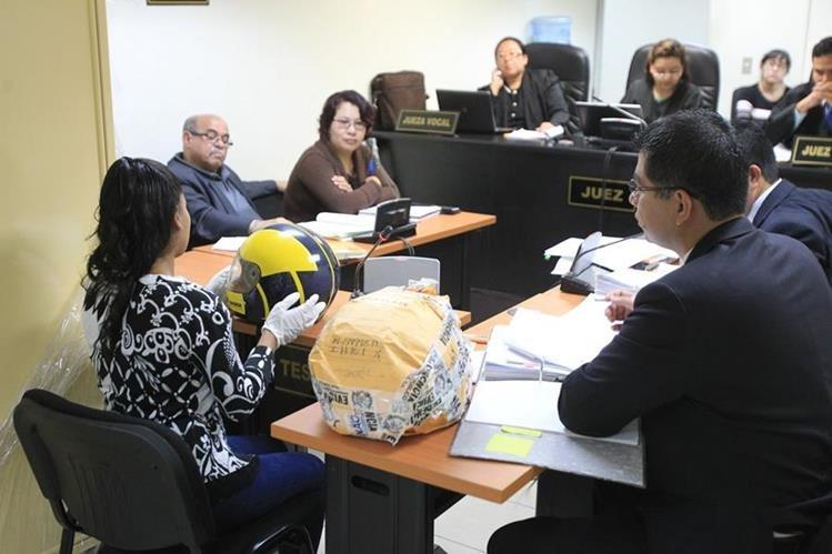 Durante el debate la Fiscalía presentó evidencias que vinculan a los tres individuos con el crimen. (Foto Prensa Libre: Hemeroteca PL)
