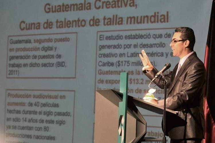 Erlin Ayala, presidente de la Comisión de Industrias Creativas de Agexport.
