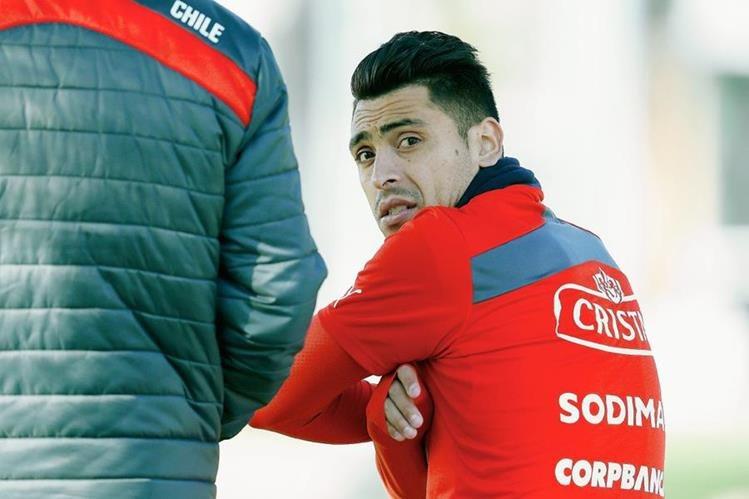 Gonzalo Jara también puede quedar fuera de la Copa América tras la resolución que dicte la Conmebol. (Foto Prensa Libre: EFE)