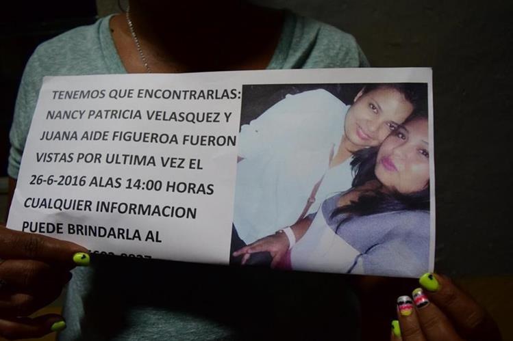 Las dos jóvenes desaparecidas en la cabecera de Escuintla fueron vistas con vida el domingo último. (Foto Prensa Libre: Carlos E. Paredes)