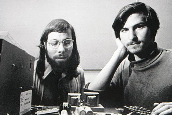 Wozniak y Jobs, en los inicios de Apple. (Foto: Hemeroteca PL).