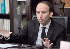 El procurador de los Derechos Humanos Jorge de León considera que a pesar que hay nuevas autoridades el sistema de corrupción continua. (Foto Prensa Libre: Érick Ávila)