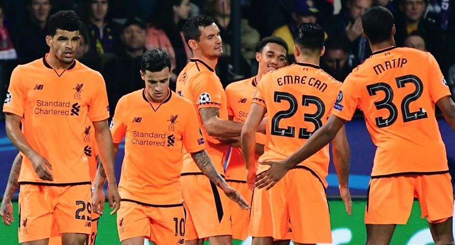 Con la goleada frente al Maribor esloveno el Liverpool sueña con regresar a las últimas instancias de la Champions. (Foto Prensa Libre: AFP)