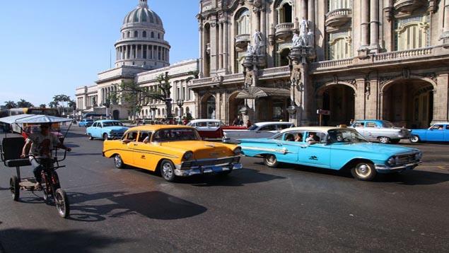 El turismo en Cuba crece al amparo de las nuevas relaciones diplomáticas con EE. UU. (Foto Prensa Libre: Hemeroteca PL)