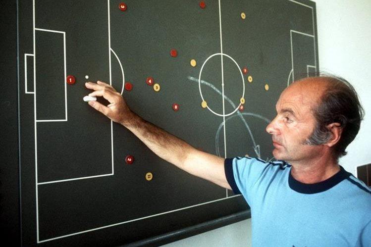 Dettmar Kramer, durante un entrenamiento, en Múnich en el año de 1976. (Foto Prensa Libre: EFE)