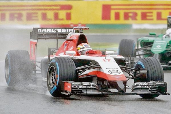 Jules Bianchi al mando de su Marussia (Foto Prensa Libre: Hemeroteca PL)