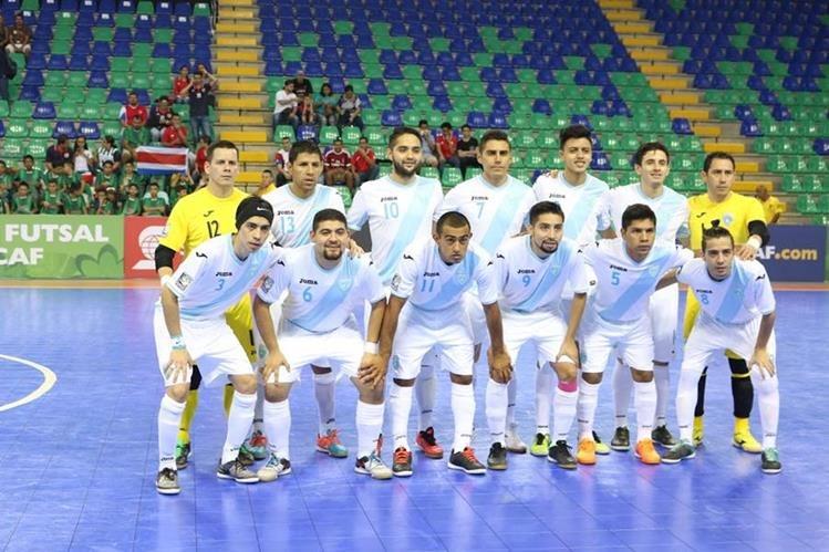 La Selección Nacional de futsal afrontará su etapa final de preparación, de cara al Mundial de Colombia 2016 (Foto Prensa Libre: Hemeroteca PL)