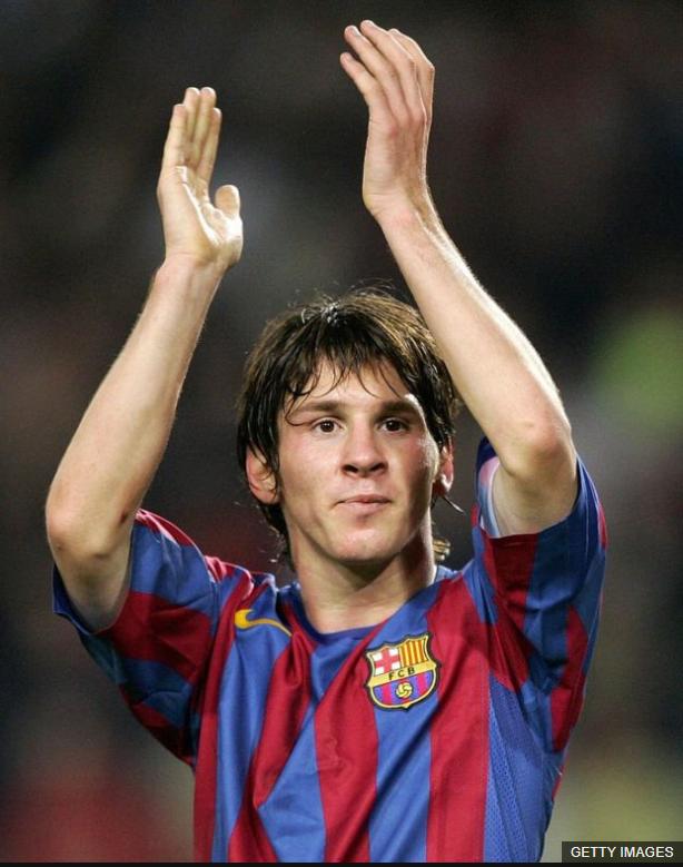 A los 18 años, Lionel Messi tenía un sueldo anual de US$3 millones con el FC Barcelona.