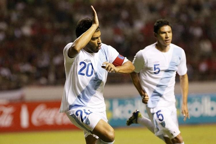 Carlos Ruiz suma 63 goles con la camisola de Guatemala. (Foto Prensa Libre: Hemeroteca PL)