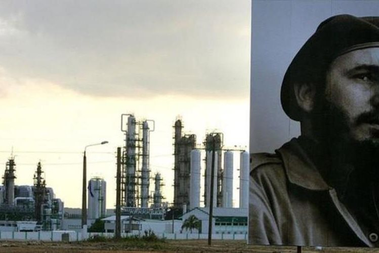 La refinería de Cienfuegos está temporalmente cerrada. AFP