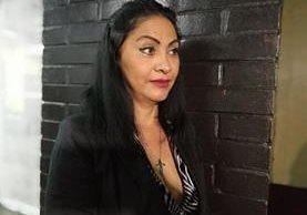 Marixa Lemus, alias la Patrona, se quejó del encierro y supuestos malos tratos. (Foto Prensa Libre: Esbin García)