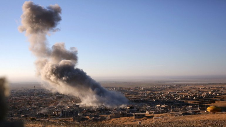 El gas mostaza fue utilizado durante el ataque cerca de Erbil, la capital de Kurdistán.