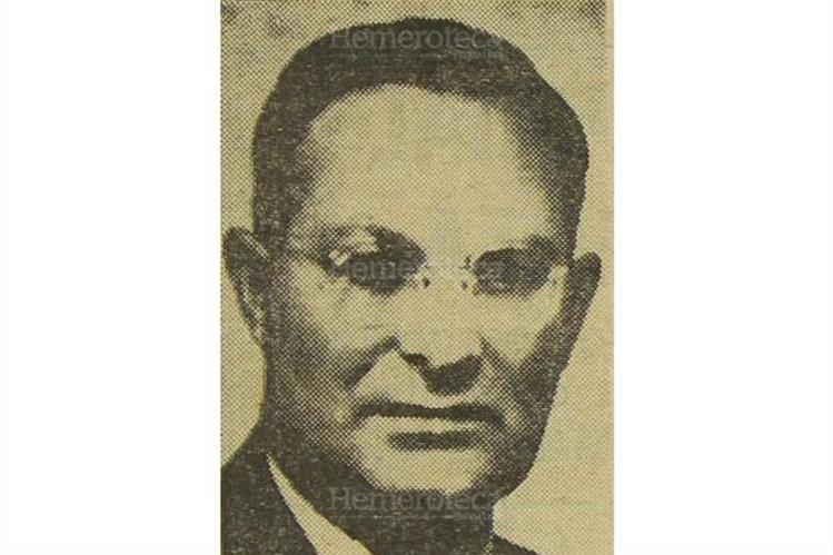 Pierre Maurice Bonin Cugnod, fundador de Laboratorios Bonin, fue asesinado en Mixco el 11/11/1967. (Foto: Hemeroteca PL)