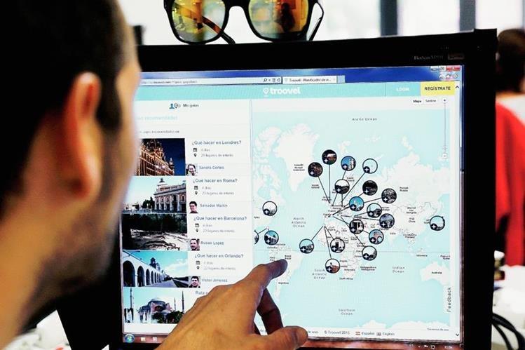 Basado en técnicas de inteligencia artificial, investigadores de la Universidad Politécnica de Valencia (UPV) en España, han desarrollado un sistema que ayuda a planificar cualquier viaje de manera rápida e intuitiva y ofrece sugerencias al gusto del usuario. (Foto Prensa Libre: Juan Carlos Cárdenas).