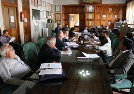 El Concejo de Quetzaltenango se reúne varias veces a la semana para tomar decisiones sobre el municipio, pero los vecinos están en desacuerdo con algunas de las medidas implementadas. (Foto Prensa Libre: María José Longo)