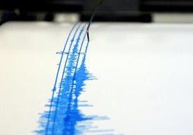 <em>Un simógrafo registra el temblor.</em>
