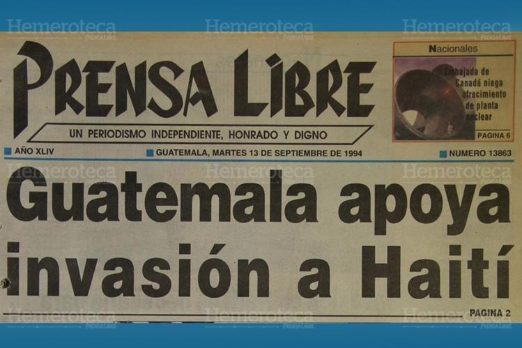 Portada del 13 de septiembre de 1994. (Foto: Hemeroteca PL)