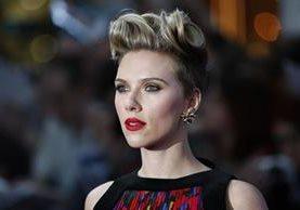 Scarlett Johansson también figura en la lista de las actrices mejor pagadas del mundo. (Foto Prensa Libre: AFP)