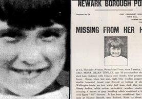 Mona Tinsley desapareció en enero de 1937 sin dejar rastro. Tenía 10 años. CHRIS HOBBS.