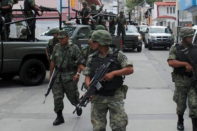 Fuerzas de seguridad se enfrentaron a la banda de criminales.