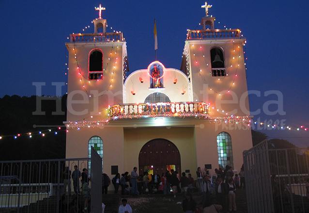 Iglesia Parroquial de Santa Catarina Pinula. (Foto: Hemeroteca PL)
