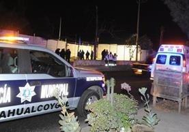 Dos mujeres paramédicas y un policía del Estado de México, fueron asesinados este domingo.(EFE).