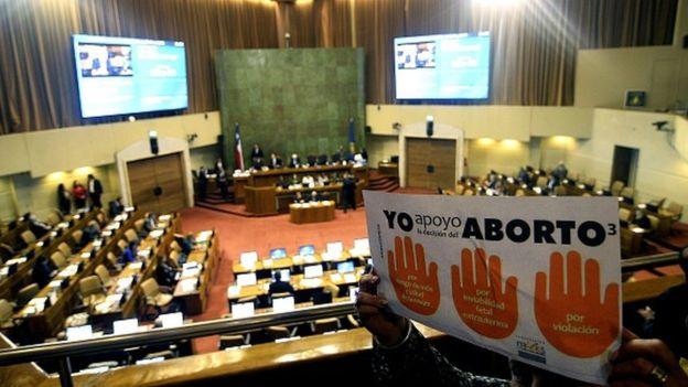 Se espera que la presidenta de Chile, Michelle Bachelet, promulgue como ley la iniciativa que permitirá abortar en caso de inviabilidad fetal, riesgo de muerte de la mujer y por embarazos producto de una violación. GETTY IMAGES