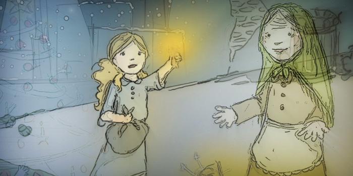 La luz de los fósforos iluminaba la imagen de su abuela. (Foto Prensa Libre: Hemeroteca PL)
