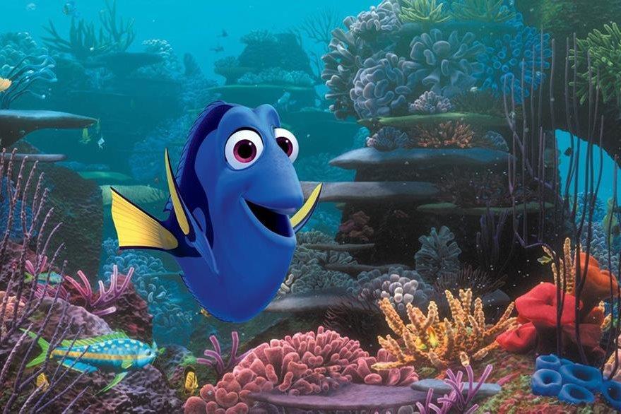 "Imagen de la película de Disney ""Buscando a Dory"" que se estrenó este año. (Foto Prensa Libre: AP)."
