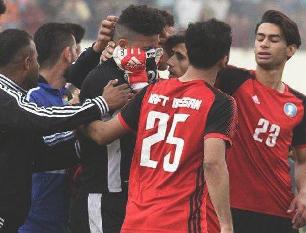 Arquero iraquí oculta la muerte de su hija para jugar un partido