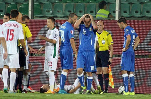Italia clasificó a la Eurocopa 2016 este domingo. (Foto Prensa Libre: AFP)