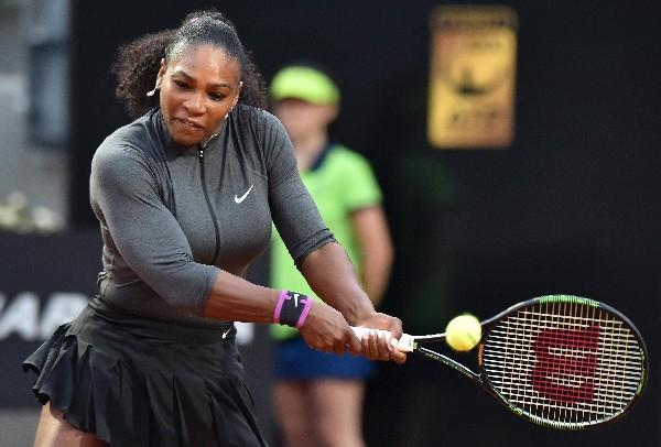 Serena Williams comenzó con buen pie el torneo de Roma. (Foto Prensa Libre: AFP).