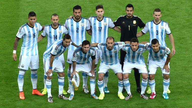 La selección de Argentina mantiene el primer lugar del ranquin mundial de la Fifa publicado este jueves. (Foto Prensa Libre: Hemeroteca)